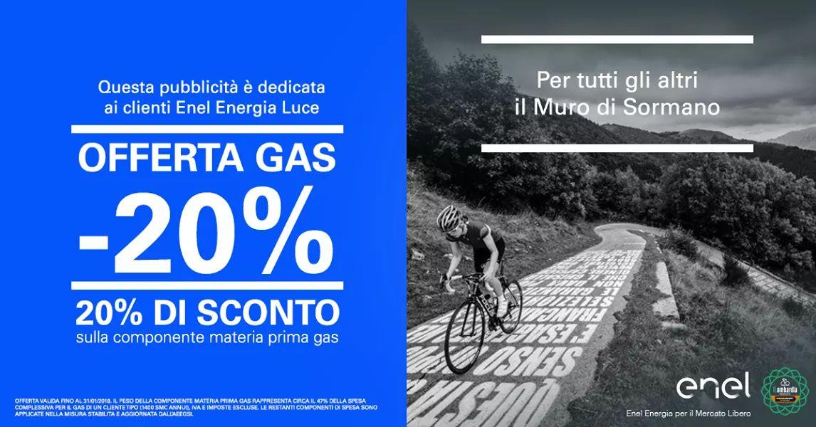 SCOPRI QUANTI VANTAGGI CI SONO IN GIRO: SCEGLI L'OFFERTA GAS -20%