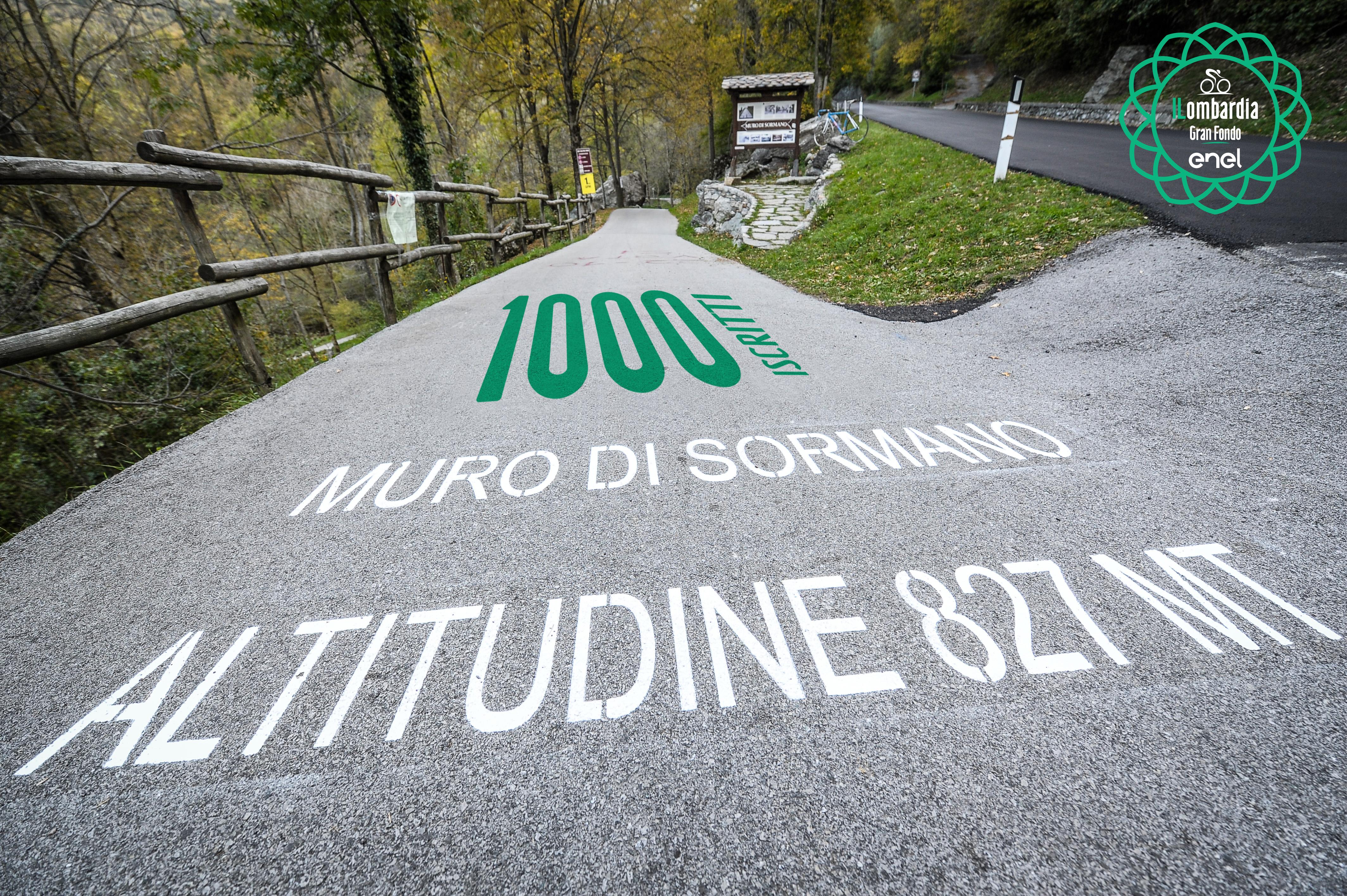 Raggiunti i 1000 iscritti alla Gran Fondo Il Lombardia