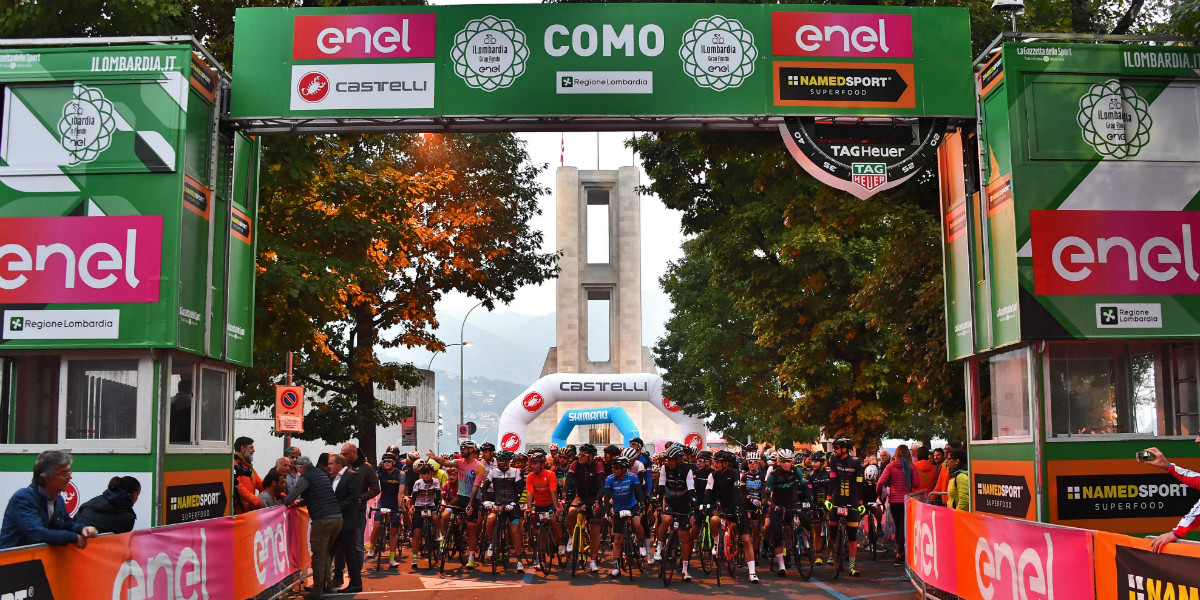 Enel side by side with Gran Fondo Il Lombardia